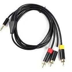 Audio Video AV Cable Cord for Microsoft Xbox 360 E Console