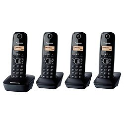 PANASONIC KX-TG1614EH Quad - (Phones IP & POTS Phones) image