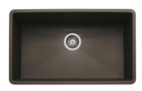 Blanco 440147 Précis Super Single Bowl Sink, Café Brown Picture