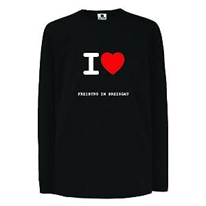 JOllify FREIBURG IM BREISGAU Kinder Junge Mädchen Langarm T-Shirt