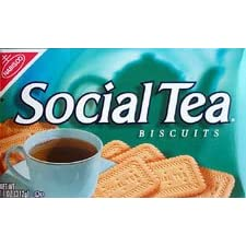 NABISCO SOCIAL TEA BISCUITS 6 CT.