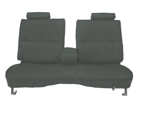 Acme U2002-0702 Front Charcoal Vinyl Bench Seat Upholstery at Sears.com
