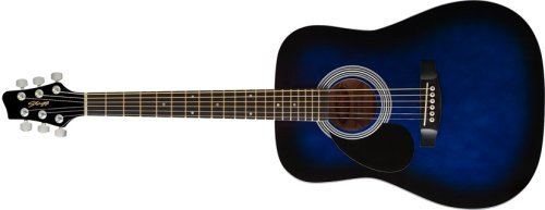 Stagg SW201 3/4 Size Dreadnought Guitar Blue