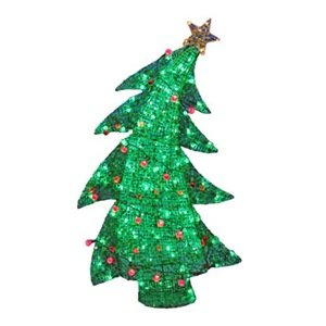 Noma/Inliten-Import Sway X'Mas Tree With Twinkling Feature, 48-Inch
