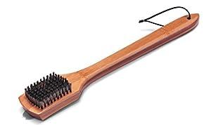 Weber 6464 18-Inch Bamboo Grill Brush