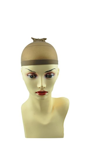2-pcs-calcetin-peluca-gorra-de-malla-abierta-streach-net-beige