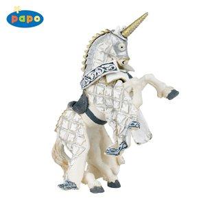 Silver Knight Unicorn's Horse _ Papo - Buy Silver Knight Unicorn's Horse _ Papo - Purchase Silver Knight Unicorn's Horse _ Papo (Papo, Toys & Games,Categories)