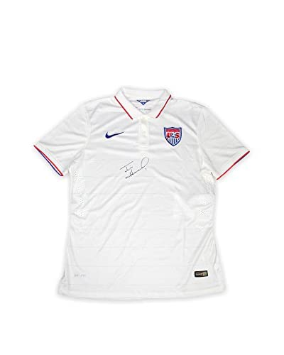 Steiner Sports Memorabilia Tim Howard Autographed USA White Collar USNT Jersey