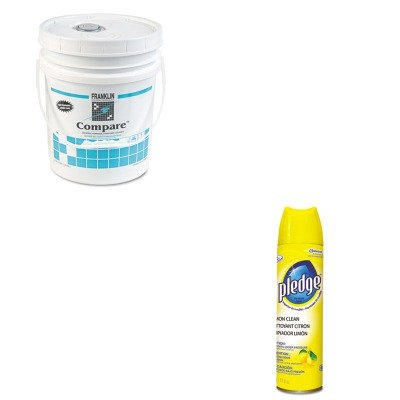 Kitdra5763074Ctfklf216026 - Value Kit - Franklin Compare Floor Cleaner (Fklf216026) And Pledge Furniture Polish (Dra5763074Ct) front-244307