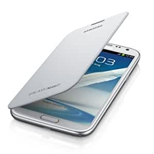 Generic Galaxy Note 2 Flip Cover - white