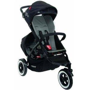 Phil And Teds Dot Stroller With Doubles Kit (Flint) front-903048