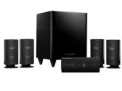 Harman Kardon HKTS 20BQ 5.1 Home Theater Speaker System (Black) from Harman Kardon