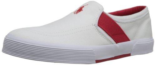 Ralph Lauren, Sneaker uomo Multicolore Rosso/Bianco