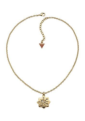 GUESS Halskette gelbgold Stern Anhänger star Zirkonia UBN31316 thumbnail