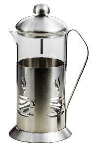Ovente FSC12S 12oz Series Stainless Steel French Coffee Press