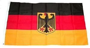 Fahne / Flagge Deutschland mit Adler NEU 90 x 150 cm