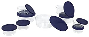 Pyrex 1072164 Storage 18-Piece Round Set
