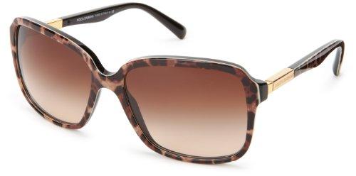 D&G Dolce & Gabbana 0Dg4172 Square Sunglasses,Animalier,58 Mm
