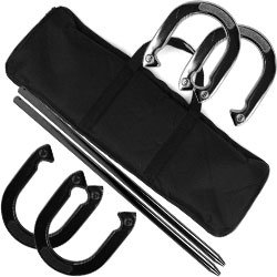 Superior Recreation Horseshoe Set - Easy to Carry Horseshoes. Product Category: Toys & Games > Games