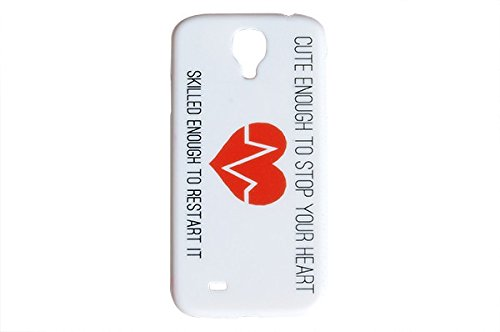 Cute-Enough-To-Stop-Your-Heart-Medical-Phone-Cover-For-Samsung-Galaxy-S4-Case-Nurse-RN-LPN-Hospital-ER