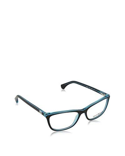 Emporio Armani Montatura 3052_5350 (54 mm) schwarz/blau