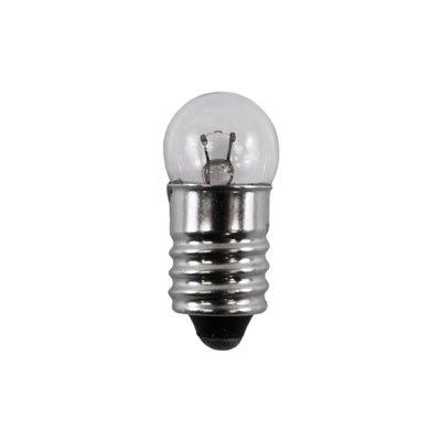 1448 - 24 Volt, 0.35A, G3 1/2 Miniature Bulb, E10 Screw Base, 3,000 Life Hours