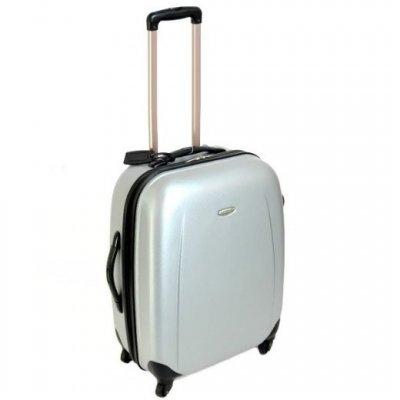 Borderline Small 21 Inch Hard Suitcase (Silver) H54 x W43 x D25 cm