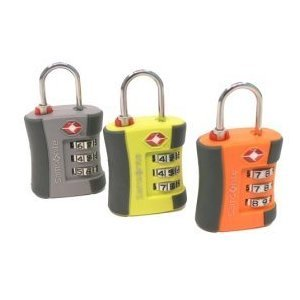 Amazon Com Samsonite Tsa Travel Sentry 3 Dial Combination