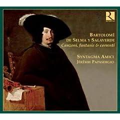 B. S. Salaverde: Canzoni, Fantasie & Correnti - Syntagma Amici