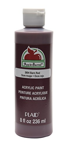 Apple Barrel Acrylic Paint in Assorted Colors (8 Ounce), K2604 Barn Red (Barn Red Paint compare prices)