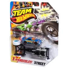Hot Wheels Team HWTF X-Pandables Street Blue Car - 1