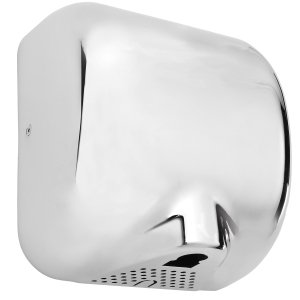 Automatic Electric Hand Dryer High Speed Power Flow Chrome Finish