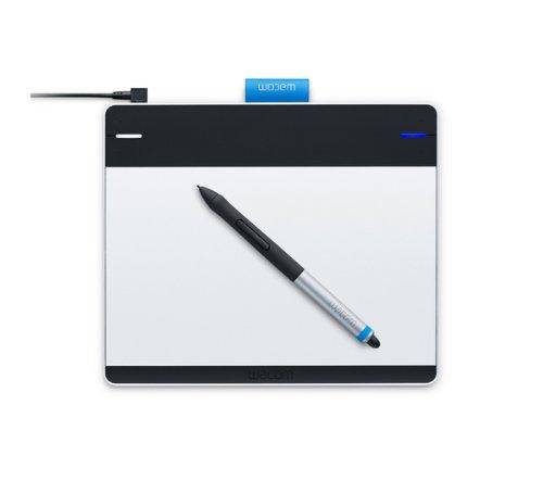 Wacom Intuos Creative Pen&Touch M - Tableta gr�fica (Bol�grafo incluido, Nivel de presi�n: 1024, Precisi�n del bol�grafo (0.5)), negro