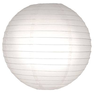"""Perfectmaze 12 Piece 14"""" (Inch) White Round Chinese Paper Lantern For Wedding Party Engagement Decoration"""