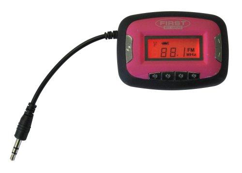 IXOS XMM201-PK - Trasmettitore FM per iPod e MP3, colore: Rosa