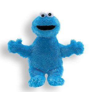 Cookie Monster Plush - Cookie Monster Stuffed Animal (9 Inch) - 1