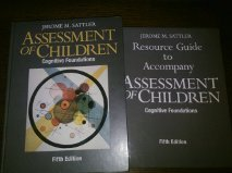 assessment of children cognitive foundations 5th edition pdf free