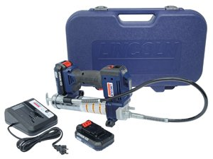 Lincoln Lubrication (LIN1884) 20-Volt Lithium Ion PowerLuber Kit (Dual Battery)