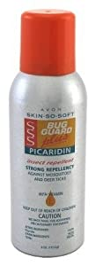 Avon Skin so Soft Bug Guard Plus Picaridin Aerosol Spray
