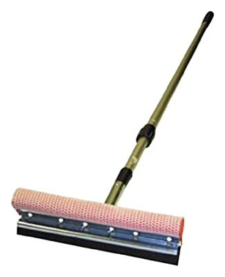 "Carrand 9045R 8"" Metal Head Standard Squeegee with 42"" Extension Handle"