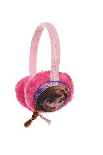 Disney Frozen, Paraorecchie Bambina, Rosa, Taglia Unica