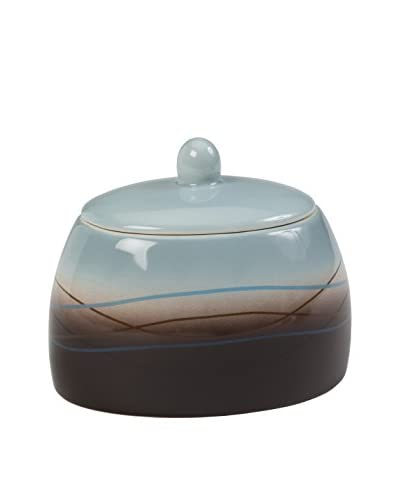 Creative Bath Mystique Jar, Blue/Brown