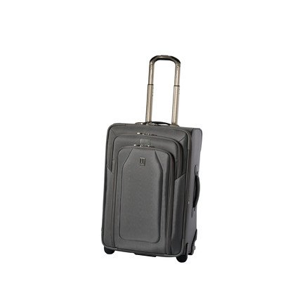 Travelpro Luggage Crew 9 24-Inch Expandable Rollaboard Suiter Bag, Titanium, One Size