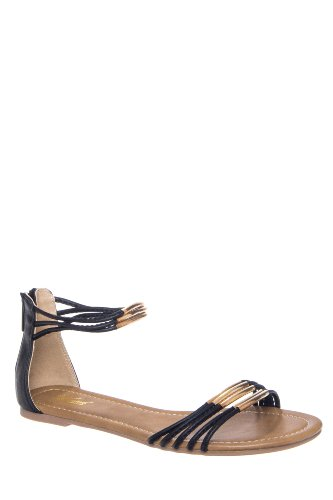 Wanted Cancun Ankle Strap Flat Sandal