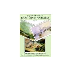 J. M. W. Turner Postcards: 24 Full-Color Ready-to-Mail Cards from Watercolors in the Collection of the British Museum (Card Books)