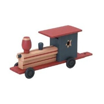 Unfinished Train Wood Craft Kit (Unfinished When Fully Assembled)