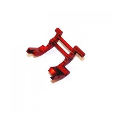 St Racing Concepts St3677R Rear Motor Guard For Traxxas Cars And Trucks (Red)