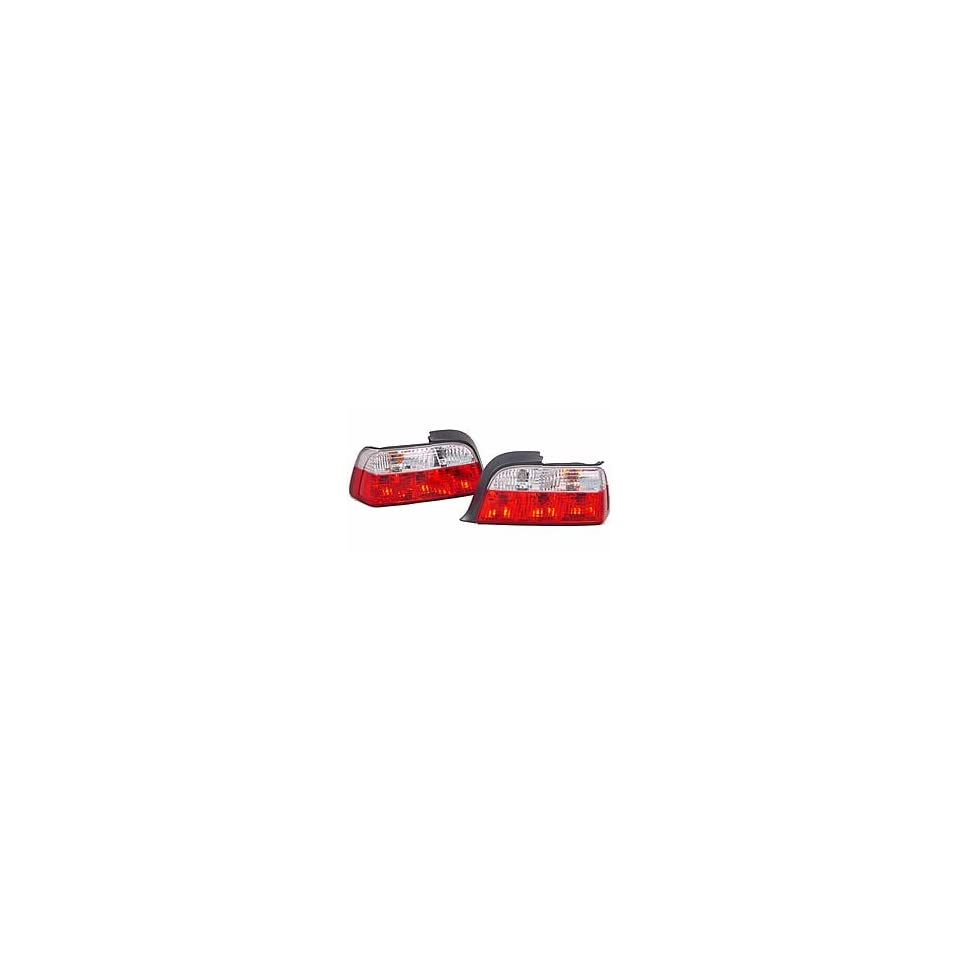 BMW E36 3 Series 92 98 2Dr Coupe Tail Lights / Lamps
