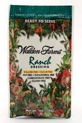 Walden Farm Salad Dressing, Ranch, 6 Count