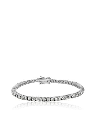 Shiny Cristal Braccialetto  argento 925 rodiato/Bianco